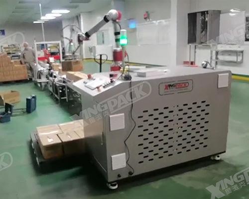 协作机器人装箱、码垛应用案例