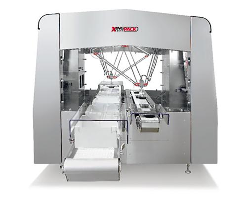 高速蜘蛛手机器人装箱机